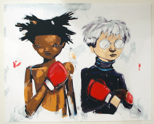 No More Public Battles Just Private Wars Hebru Brantley poster Eat Crap King