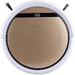 ILIFE V5S PRO Smart Robot Vacuum Cleaner Dry Wet Sweeping Cleaning Machine Cordless Golden