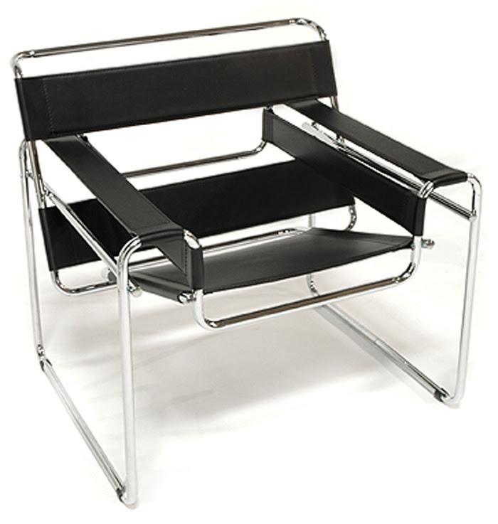 silla wassily marcel breuer blogydeco. Black Bedroom Furniture Sets. Home Design Ideas