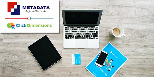 Metadata partners with Click Dimensions to offer the best Marketing Experience in Dynamics CRM!