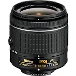 Nikon AF-P DX Nikkor Zoom Lens for Nikon F - 18mm-55mm - F/3.5-5.6