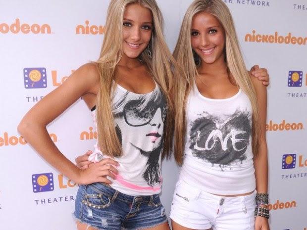 As gêmeas mais bonitas da internet
