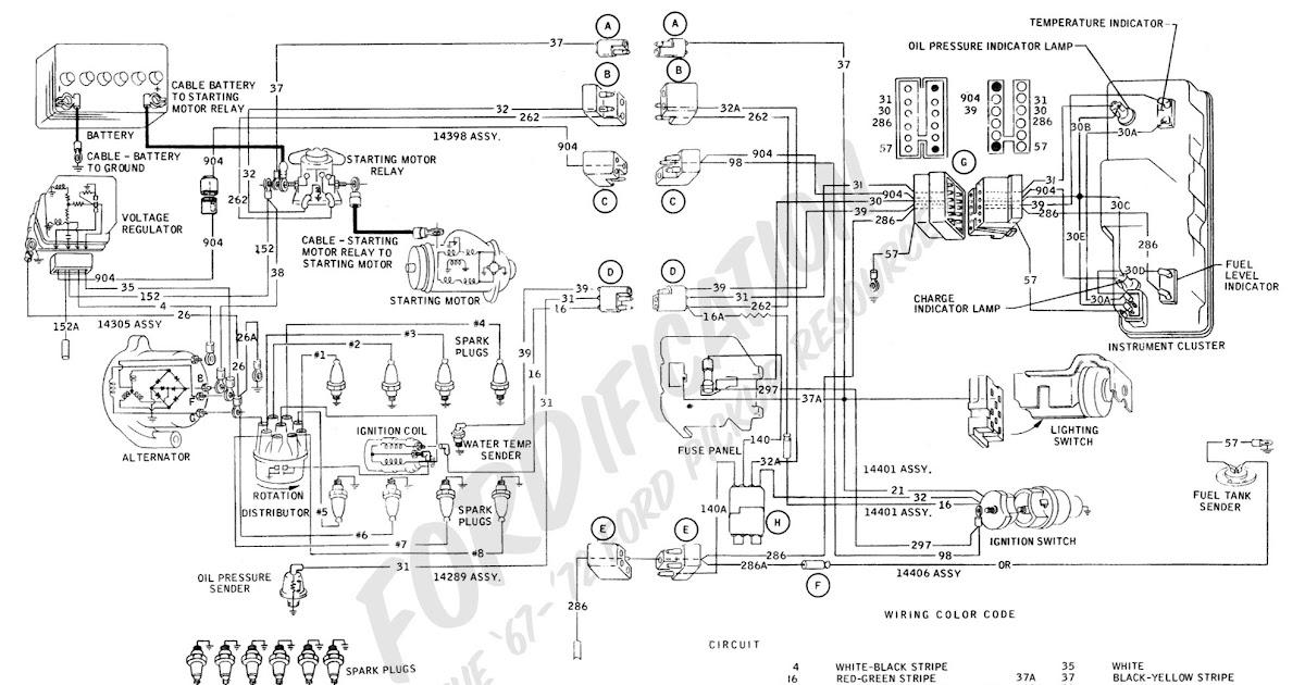 1996 Ford F750 Wiring Schematic