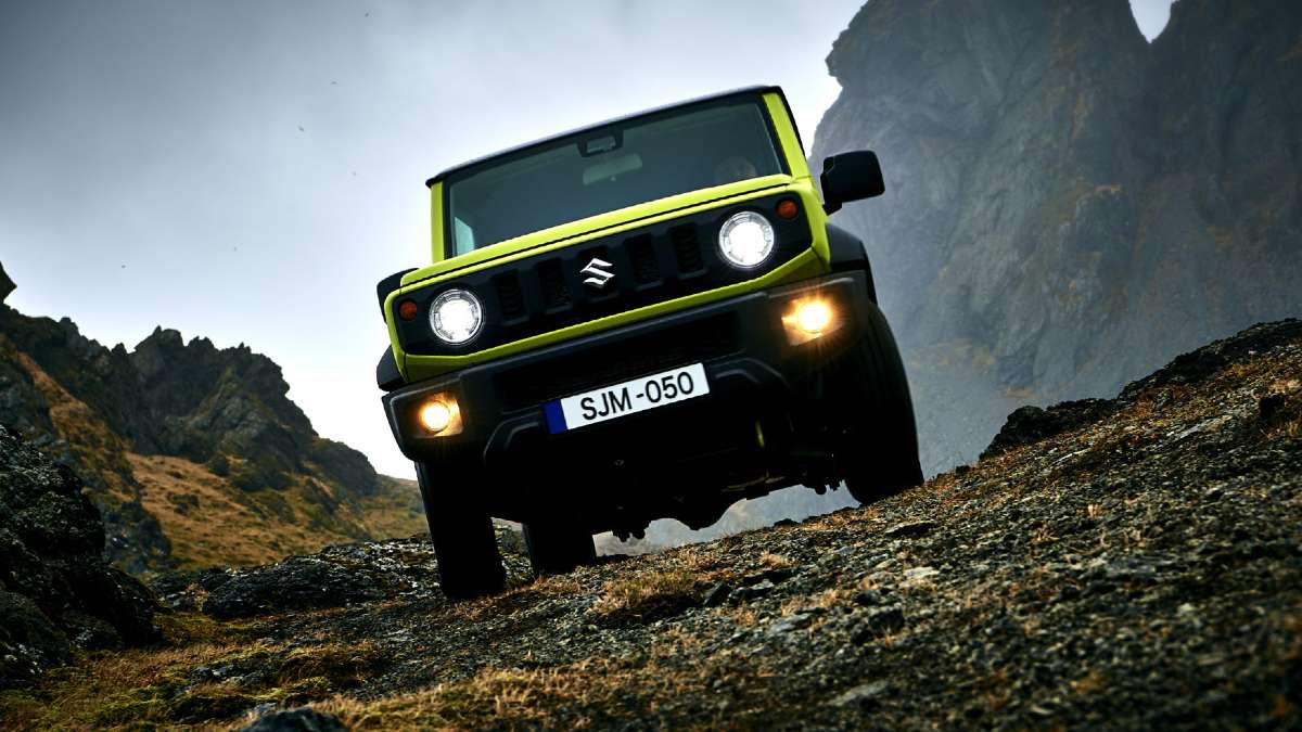 The long-wheelbase version of the Jimny was to debut in concept form at the now-cancelled 2021 Tokyo Motor Show. Image: Suzuki