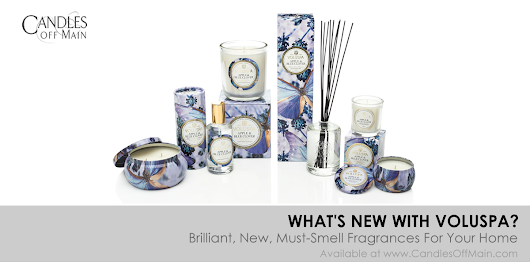 Voluspa candles | What's New? - Bon Bougie