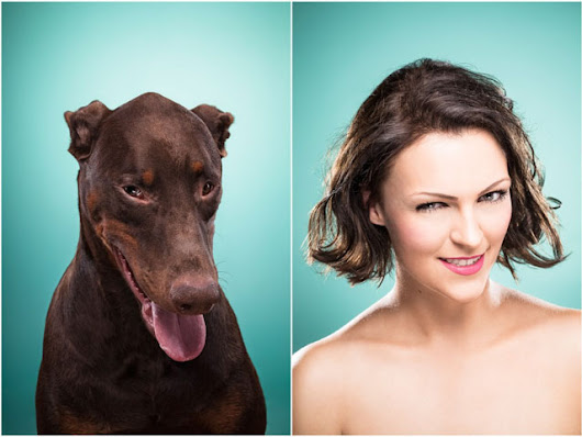 Portraits of People Looking Like Their Dogs
