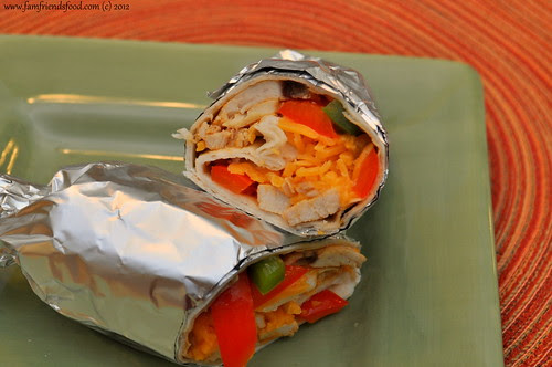 Southwestern-Chicken-Wraps-Sunday-Supper