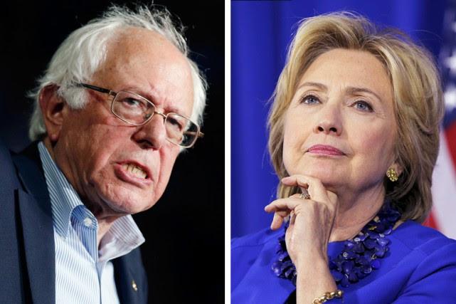 Les deux candidats démocrates favoris ont des styles... (PHOTOS REUTERS ET AP)