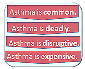 Asthma is common, deadly, disruptive, and expensive.