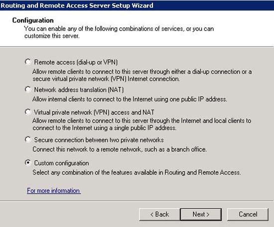 Remove VPN 2008