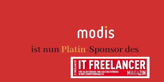 Modis (Adecco Group) ist nun Platin-Sponsor des IT Freelancer Magazins - IT Freelancer Magazin