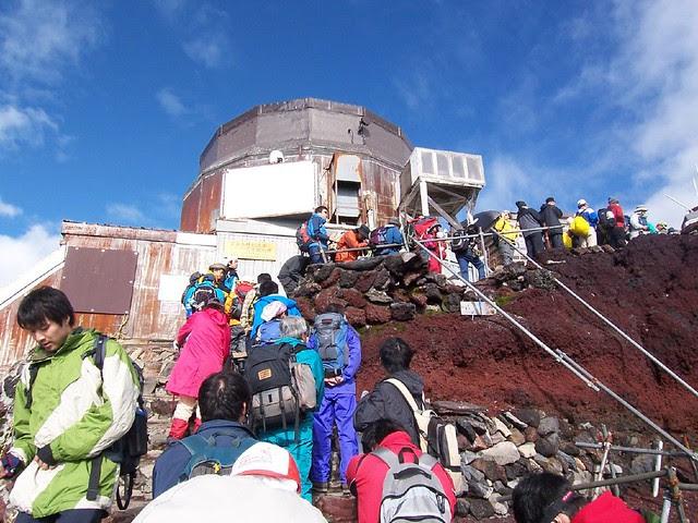 日本最高地点 剣が峰(富士山お鉢めぐり) Climbing Mt.Fuji