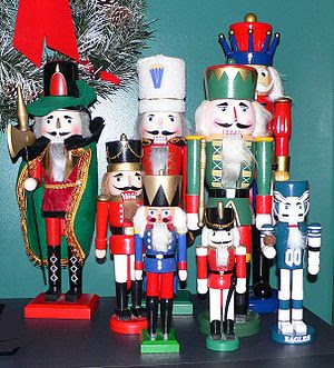 Picture of some nutcrackers. Taken by →Raul654...