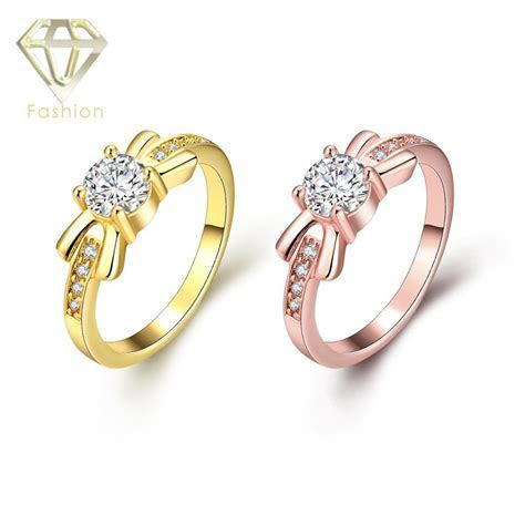 Cheap Engagement Rings UK Hot Sale Classic /Rose Gold