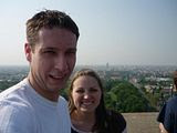 On top of the Völkerschlachtdenkmal