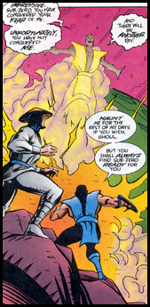 One of SCORPION's lesser known trademark moves is the TELEPORT PUNCH.