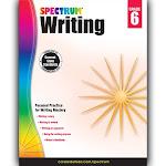 Carson Dellosa CD-704575 Spectrum Writing Gr 6
