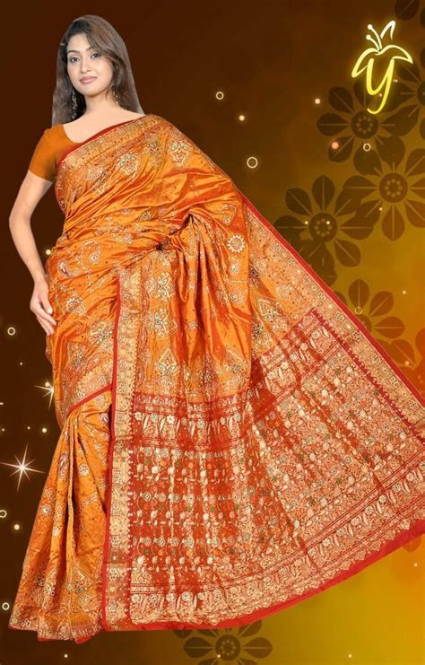 1000  images about burnt orange saree on Pinterest