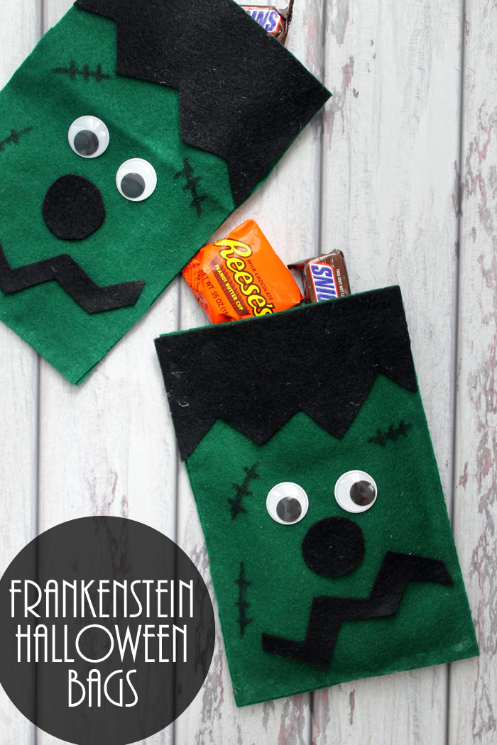 Frankenstein Goodie Bags by The Country Chic Cottage