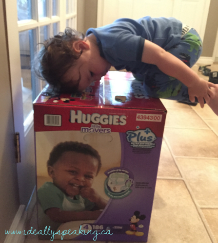 Getting on the Move With Huggies Little Movers Plus - Ideally speaking...