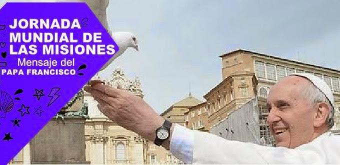Se publica el mensaje del Papa para la Jornada Mundial de las Misiones este año