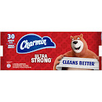 Charmin Ultra Strong Bath Tissue 30 Jumbo Rolls