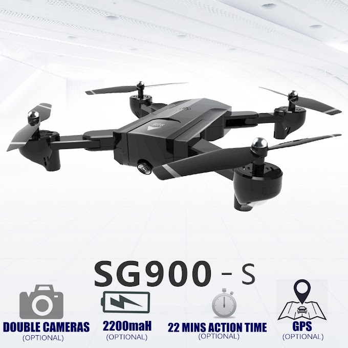 GPS RC Helicopter With HD WiFi Camera Professional Double Camera Selfie Drone Automatic Follow RC Quadcopter SG900 SG900s Copter