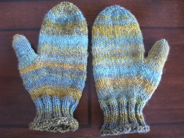 Chicken Thumb Mittens