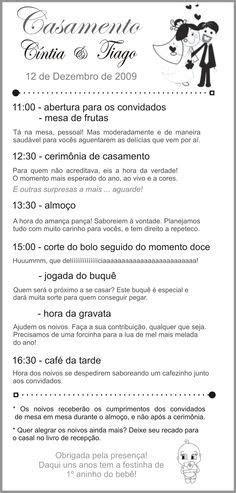 1000  images about Menus para Casamento on Pinterest