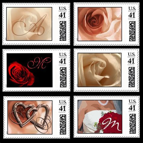 New Wedding Stamp Designs Solve Bridal Problems