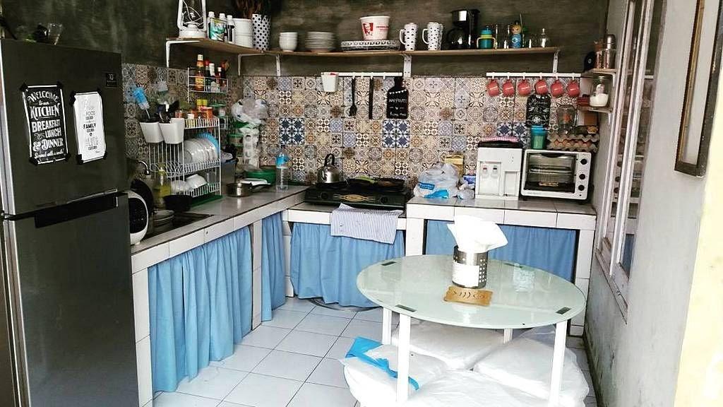 Konsep Terpopuler 26 Desain Dapur Mungil Tanpa Kitchen Set