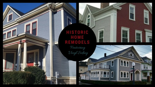 Historic Home Renovations feature Vinyl Siding in New Bedford, MA | Contractor Cape Cod, MA & RI