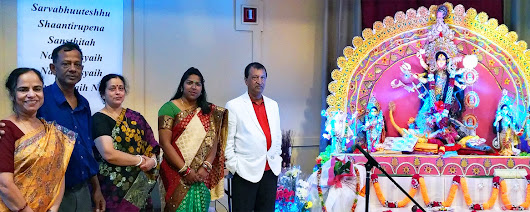 Durga Puja Celebration in Edmonton
