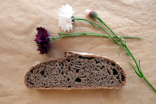 Grape seed flour bread recipe | The Bread She Bakes