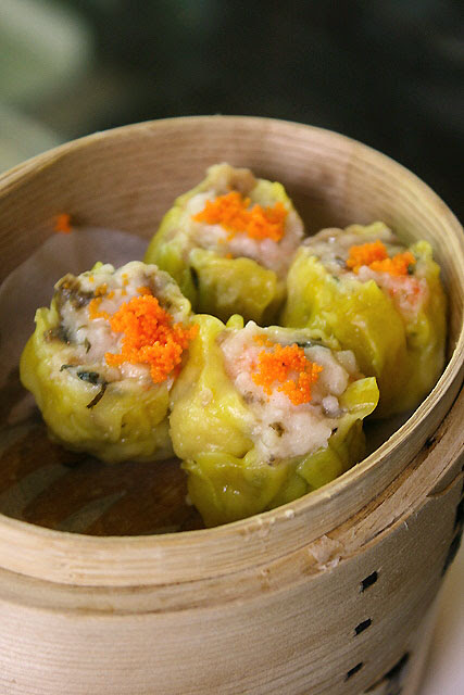 Steamed Pork with Preserved Vegetables Siew Mai