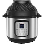 Instant Pot 8qt Duo Crisp Combo Electric Pressure Cooker Air Fryer - Stainless Steel