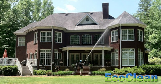 Residential SoftWashing | EcoClean | Greenville, SC