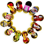 BestPysanky 12 Gold Plastic Easter Eggs with Premium Candy