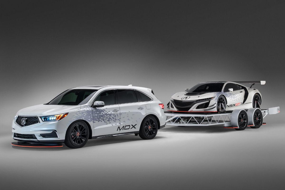 2017 Acura NSX GT3 Racecar Makes an Appearance at SEMA ...