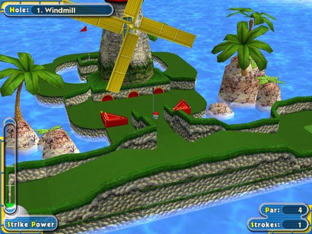 Super Minigolf Pro Free PC Game Screenshot