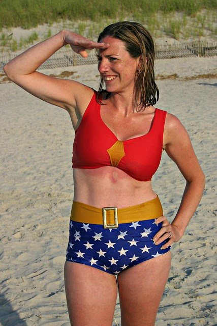 wonder woman looks for trouble