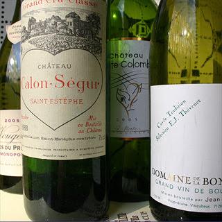 Château Calon-Ségur 1988 and Thévenet's Cuvée Tradition 1995