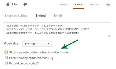 How to Disable Related Videos for YouTube Embeds in WordPress
