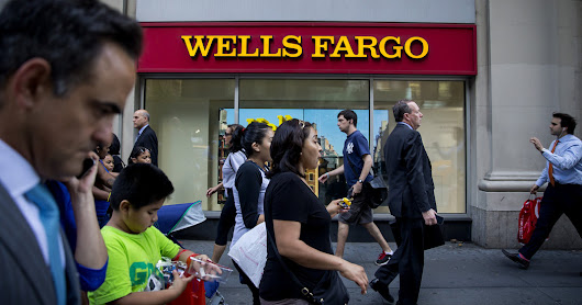 Wells Fargo Fined $185 Million for Fraudulently Opening Accounts - The New York Times