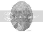 Scott Blake's mosaic of George Washington