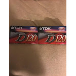 TDK D120 High Output IECI / Type I Normal Position Audio Cassettes (2 Pack) - Unlimited Cellular