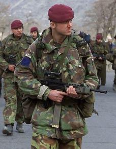 Paratroopers in Afghanistan