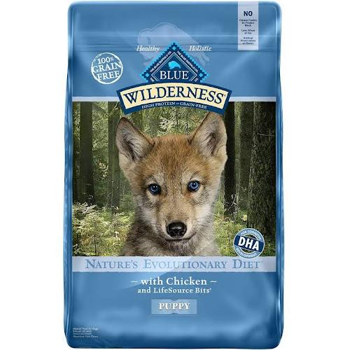 Blue Buffalo Wilderness Chicken Recipe Puppy Food - 24 lb.