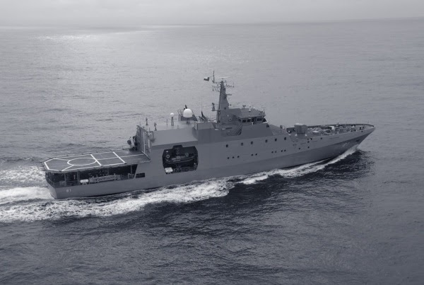 Argentina encomenda 4 novos Patrulheiros Oceânicos