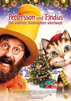 Pettersson und Findus 2 - Das schönste Weihnachten überhaupt Filmplakat